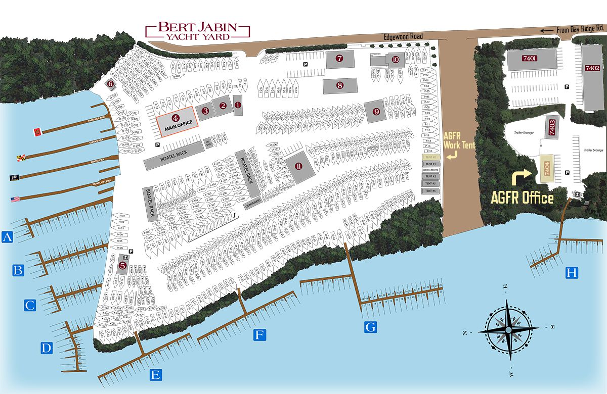 View a larger map of Annapolis Gelcoat and Fiberglass Boat Repairs Annapolis, Maryland Location