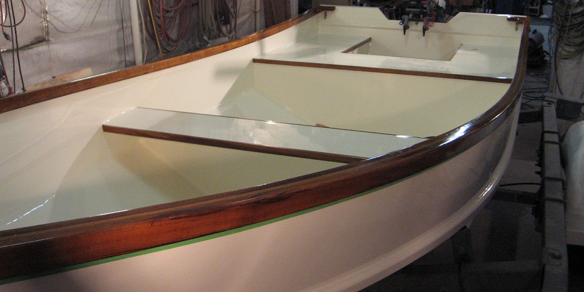 Finished Fishing Creek Boat Built to Order in Annapolis, Maryland